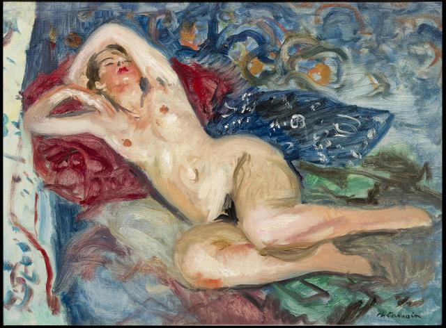 , 'La Chambre Bleue,' ca. 1930, Galerie de Souzy