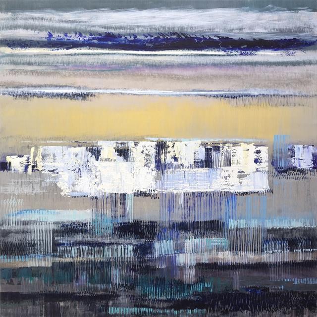 Bruno Kurz, 'Lumnis I', 2018, Painting, Acrylic and oil on metal, Odon Wagner Gallery