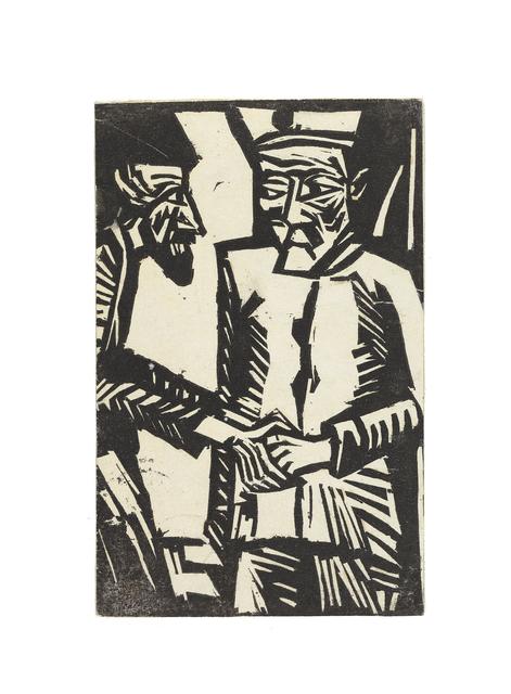 , 'Abschied,' 1915, Ludorff