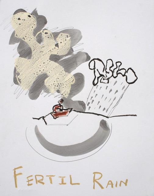 , 'Fertil Rain,' 2013-2014, NUNU FINE ART