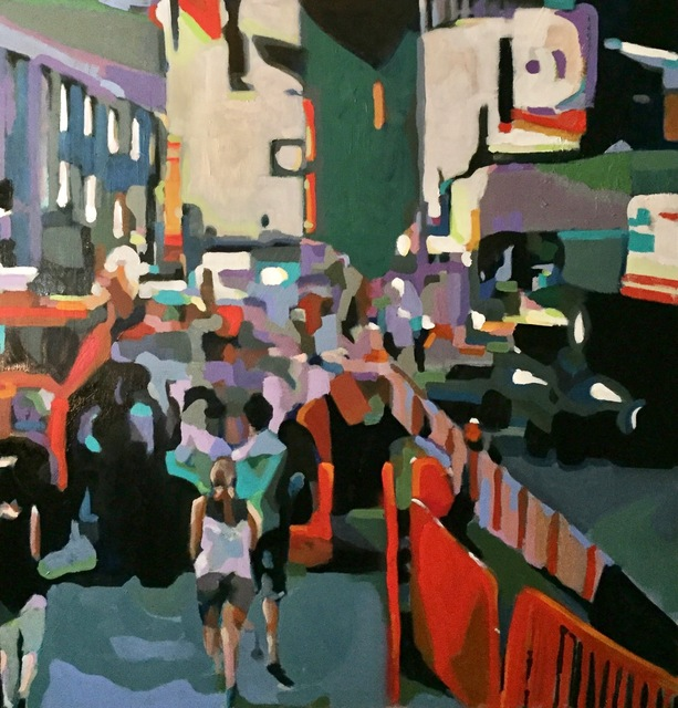 , 'Times Square,' , Water Street Gallery