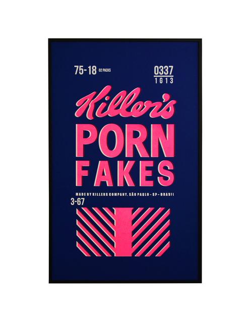 , 'Killer's Porn,' 2018, Galeria Houssein Jarouche
