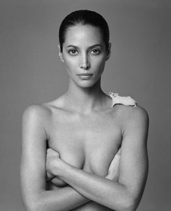 , 'Christy Turlington & Mouse,' 1999, Staley-Wise Gallery