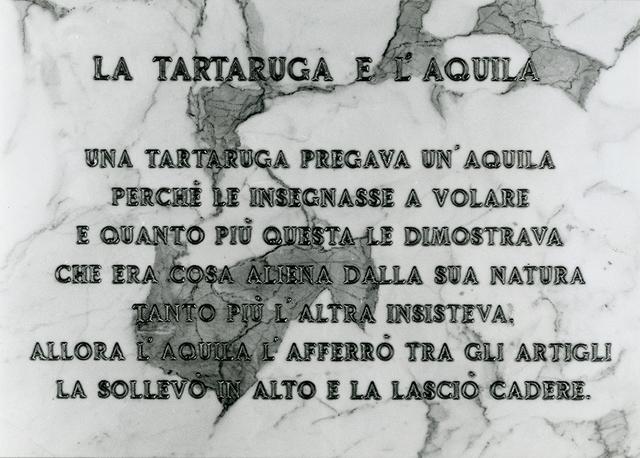 , 'La tartaruga e l'aquila,' 1972, Erica Ravenna Arte Contemporanea