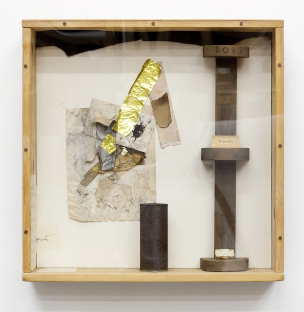 , 'Trotsky Box,' 1980, Moran Bondaroff