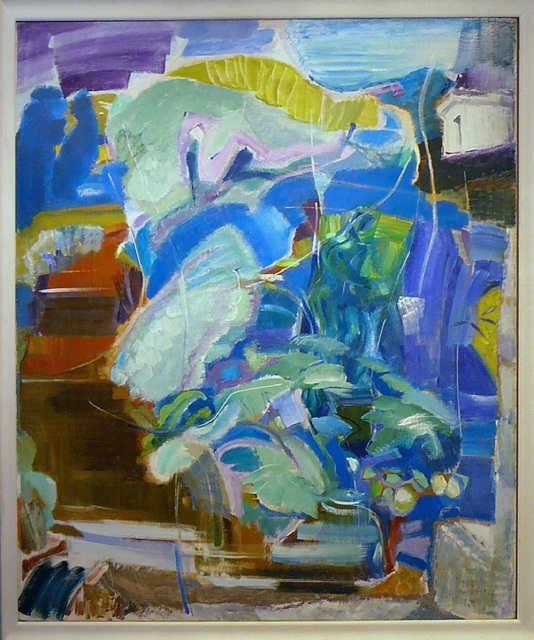 Ivon Hitchens, 'The Fountain of Acis', 1964, Painting, Oil on canvas, James Hyman Gallery