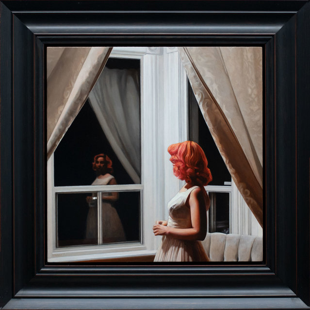 , 'Lady in the Window,' 2019, ARCADIA CONTEMPORARY