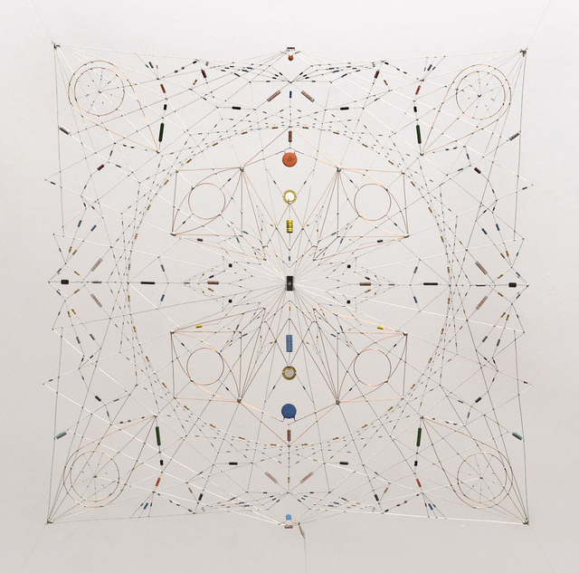 , 'Random relay - Technological mandala #42 ,' 2014, The Flat - Massimo Carasi