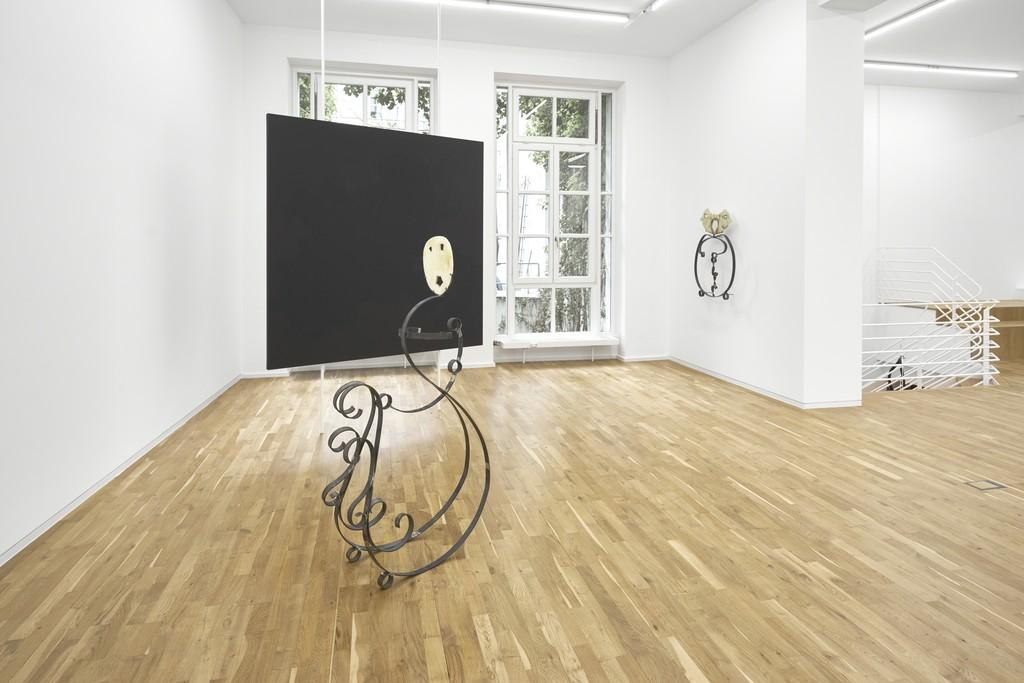 Pauline Beaudemont. Macchia Aperta, 2017, Installation view