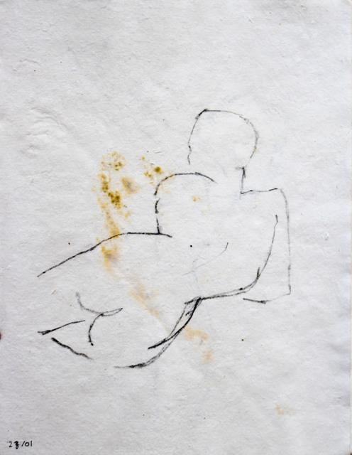 Beya Gilles Gacha, '28/01 - Study of a Body', 2019, L'agence à Paris