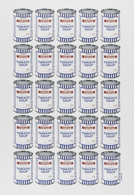 Banksy, 'Tesco Tomato Soup Can', 2006, Forum Auctions