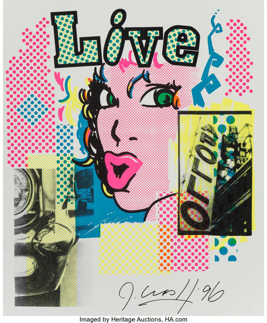 CRASH, 'Live at the Apollo', 1996, Print, Screenprint in colors on aluminium, Heritage Auctions