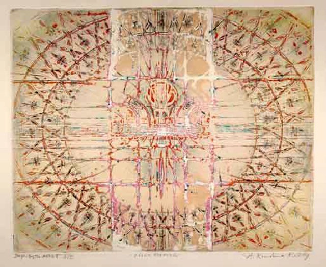 Krishna Reddy, 'CLOWN FORMING', Mark Hachem Gallery