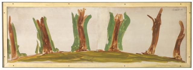 , 'Trees in a Landscape,' 1986, Galerie Bei Der Albertina Zetter
