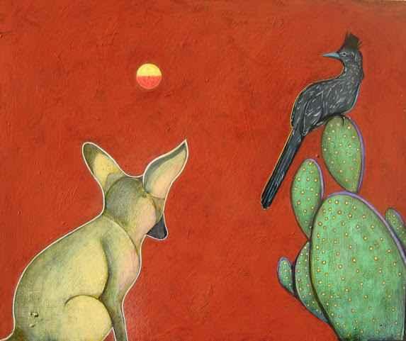 , 'Coyote and Roadrunner,' , Sorrel Sky Gallery