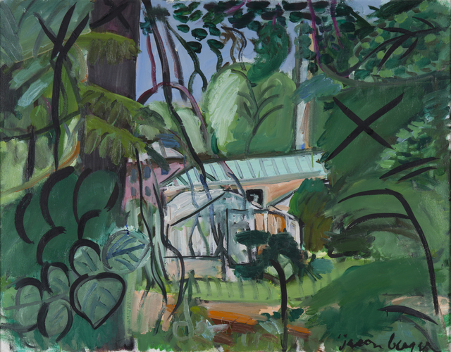 , 'Greenhouses at Franklin Park, Boston,' ca. 1986, Childs Gallery