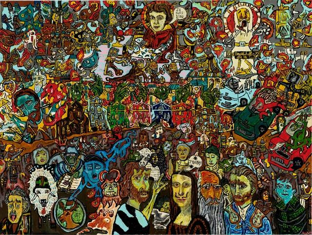 , 'The apocalypse,' 2017, Galerie Claire Corcia