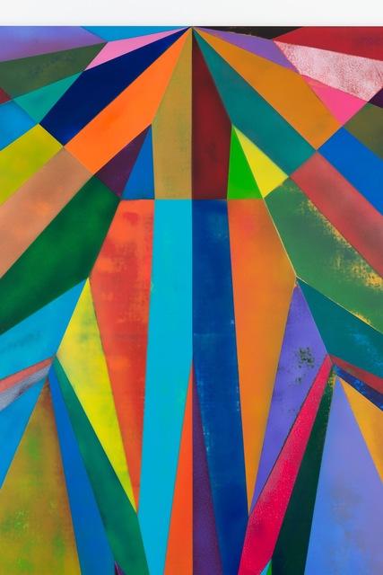Yusuke Komuta, 'Plane_Mole_cricket', 2013, Painting, Acrylic on cotton, SCAI The Bathhouse