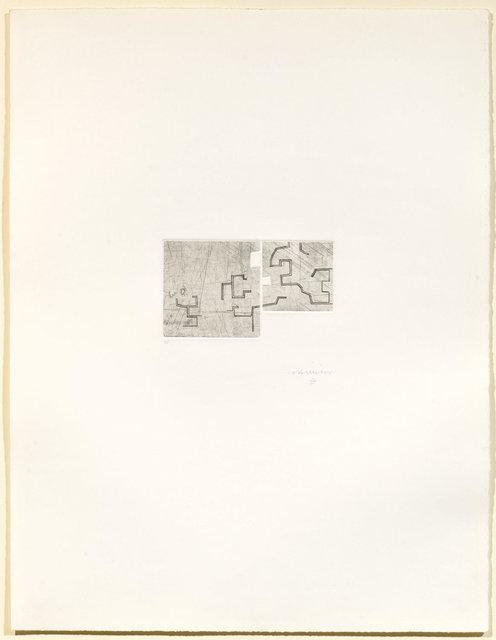 Eduardo Chillida, 'Enda V', 1976, Koller Auctions