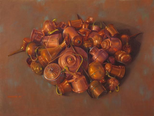 , 'Copper Cluster,' 2008, Vose Galleries