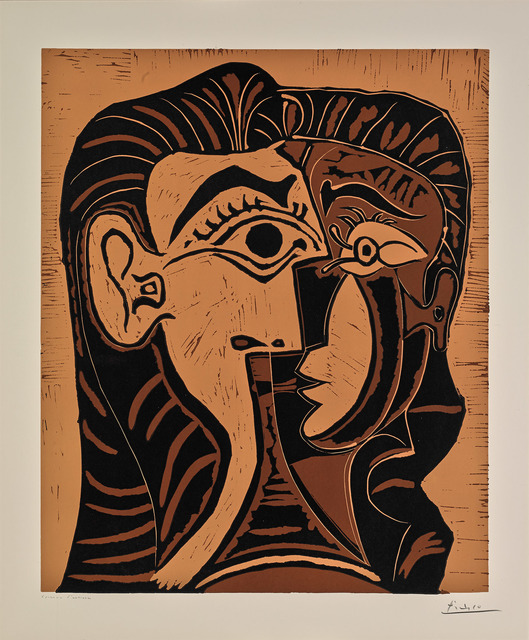 Pablo Picasso, 'Portrait of Jacqueline I (B.1064)', 1963, Martin Lawrence Galleries