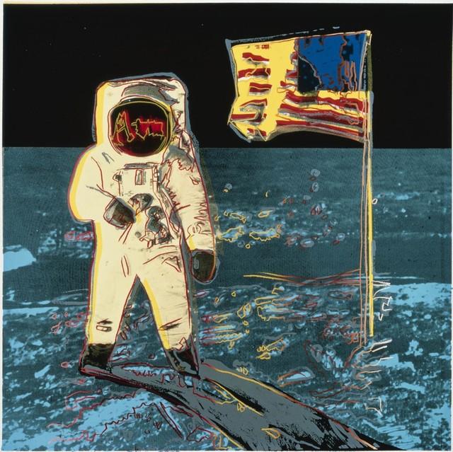 Andy Warhol, 'Moonwalk (FS II.404)', 1987, Print, Screenprint on Lenox Museum Board, Revolver Gallery
