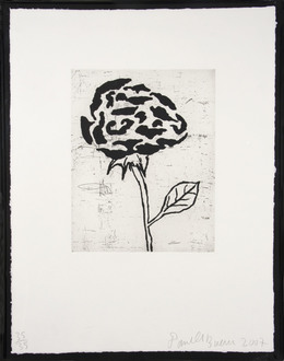 Donald Baechler, 'Flower V', 2007, Zane Bennett Contemporary Art