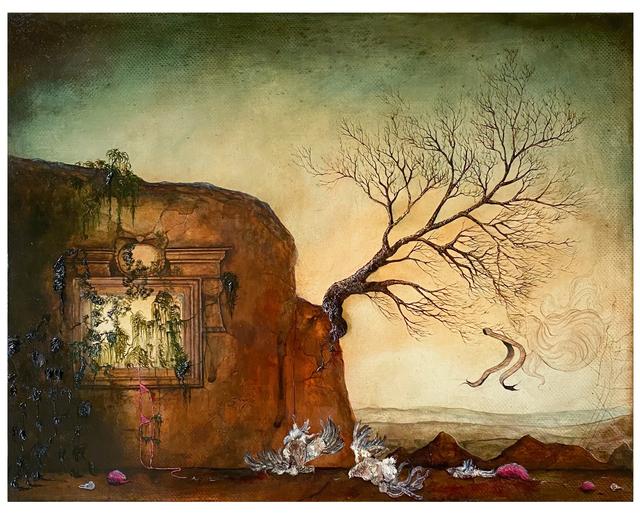 Anj Smith, 'Mighty Mausolos', 2005, Painting, Oil on linen, Artsy x Rago/Wright