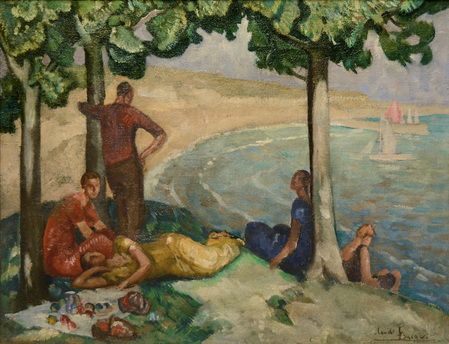 Claude Foreau, 'Déjeuner en bord de mer', 1903-1977, Guarisco Gallery