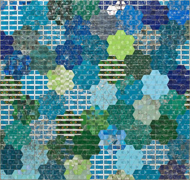 Robert Larson, 'Green Bloom', 2018, Joshua Liner Gallery