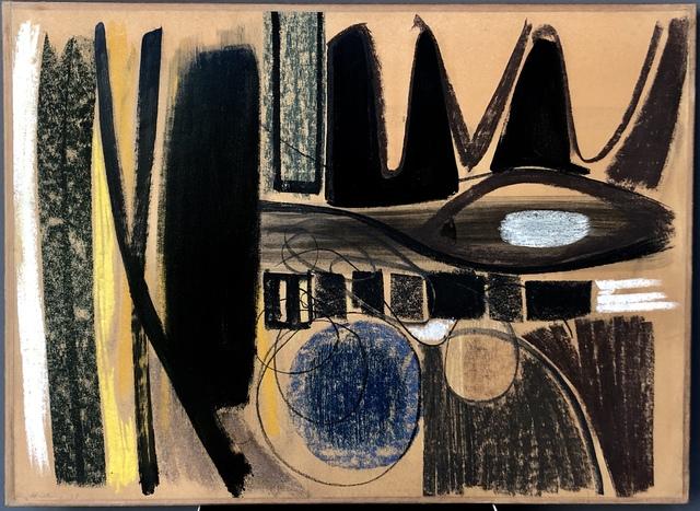 Hans Hartung, 'Untitled', 1948, AM Arte Moderna