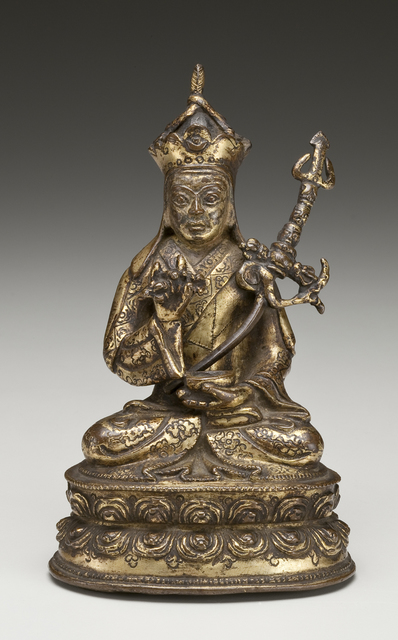 , 'Guru Rinpoche (lived ca. 8th century) Founder of the Nyingma Order,' 16th century, Newark Museum
