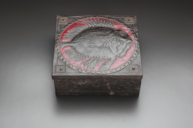, 'Spiny Fish Metal Repousée Box,' ca. 1905, Jason Jacques Gallery