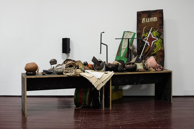 , 'Untitled (Objects and Anagrams for R.U. & R.U. (Part II),' 2015, Museum of Modern Art Dubrovnik
