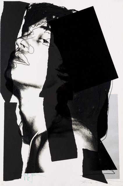 Andy Warhol, 'Mick Jagger (FS II.144)', 1975, Revolver Gallery