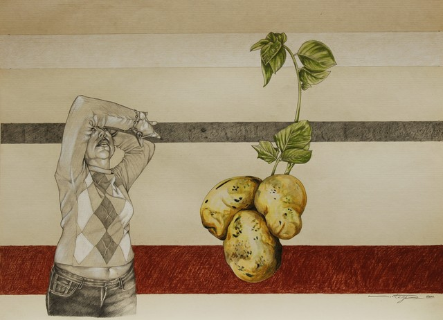 Ezequiel Ortega, 'Sin Titulo (Potatoes)', 2018-2019, La Mano Magica
