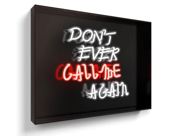 David Drebin, 'Don't Ever Call Me Again', 2016, Isabella Garrucho Fine Art