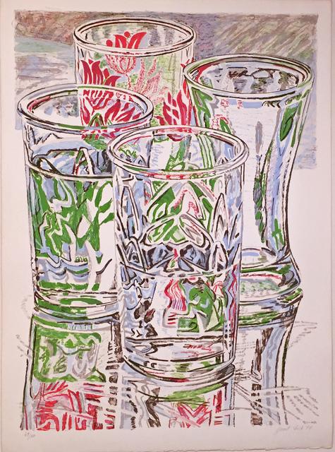 Janet Fish, 'FOUR GLASSES', 1976, Edward T. Pollack Fine Arts