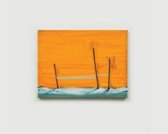 , 'Três Mastros (Amarelo),' 2017, Bolsa de Arte