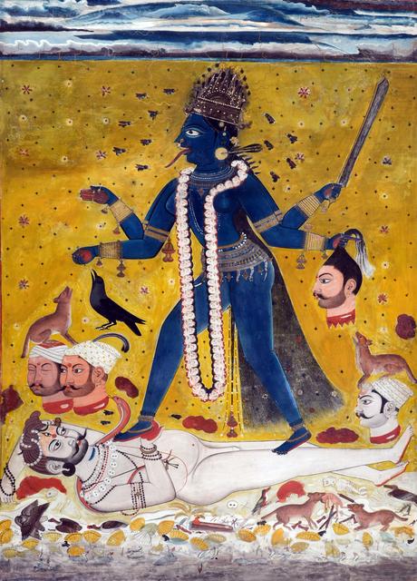 , 'Kali,' , Swaraj Art Archive