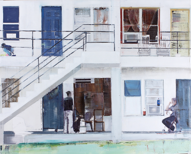 , 'Overtown (Waiting #218),' 2014, Jonathan LeVine Projects