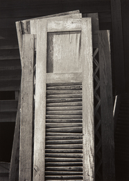 Ansel Adams, 'Old Doors, Columbia Farm, Los Angeles,' 1940, Phillips: The Odyssey of Collecting