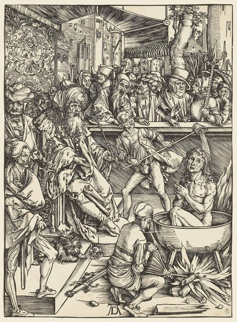 , 'The Martyrdom of Saint John, from: The Apocalypse (B. 61; M., Holl. 164; S.M.S. 112),' ca. 1496-97, Christie's Old Masters