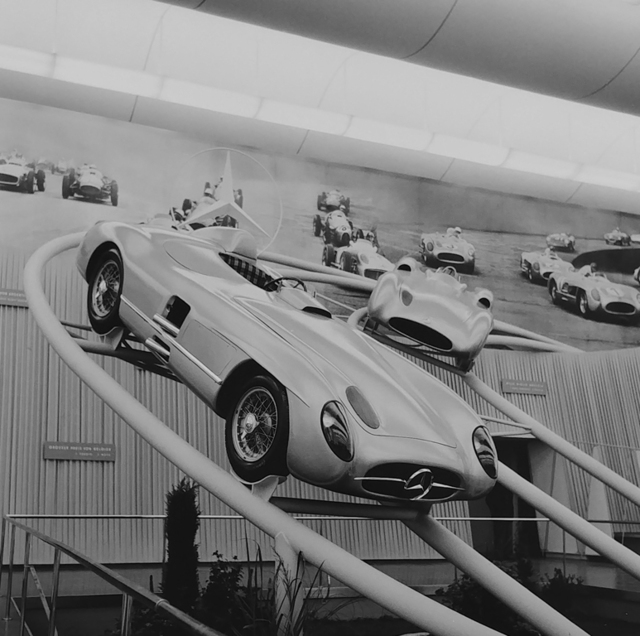 , 'Mercedes Benz display at a German auto show, Frankfurt,' ca. 1960, PDNB Gallery