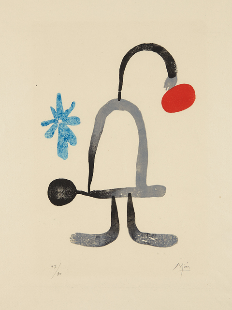 Joan Miró, 'A toute épreuve: one plate', 1958, Phillips