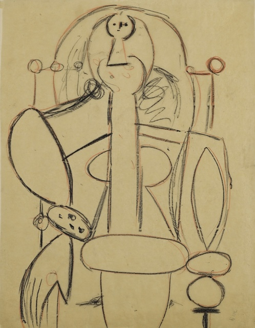 , 'Woman in an Armchair,' ca. 1947, MICHALI GALLERY