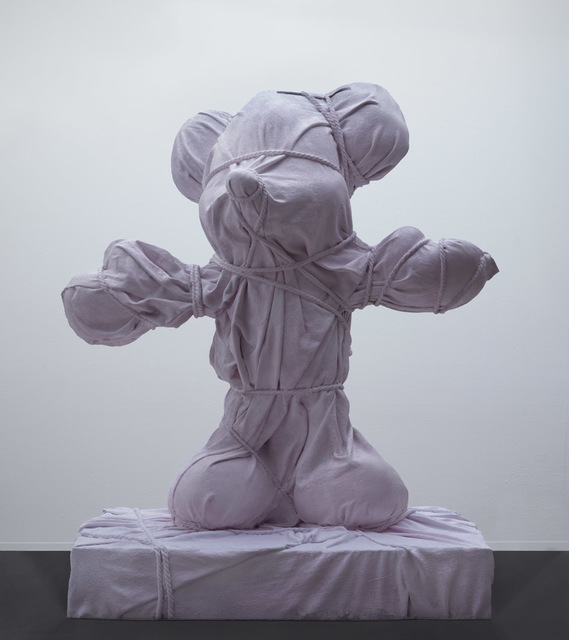 , 'Pink Wrapped Animal,' 2019, Galerie Ron Mandos