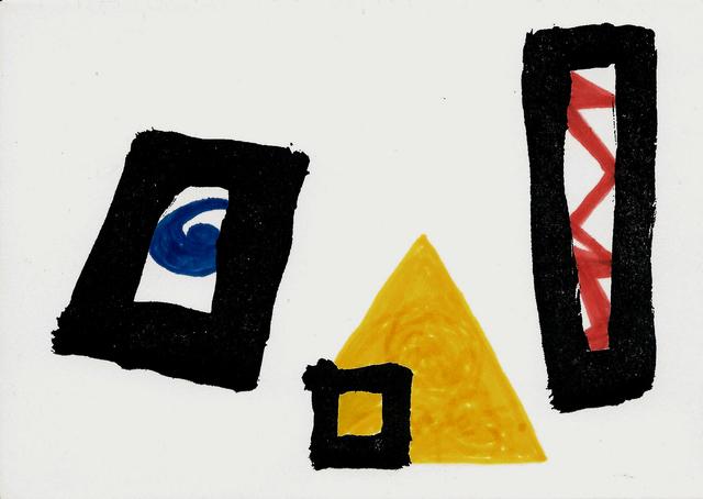, 'Tarjeta de felicitación,' 1983, Galería La Caja Negra