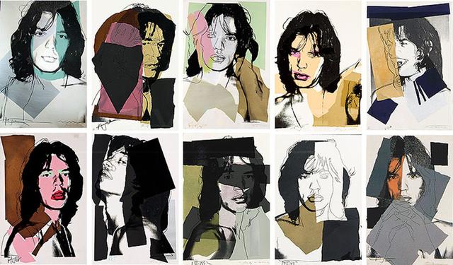 , 'Mick Jagger Complete Portfolio (FS II.138-147),' 1975, Revolver Gallery