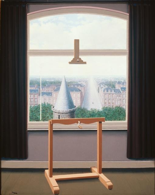 René Magritte, 'Les Promenades d'Euclide', 1955, Painting, Oil on canvas, Centre Pompidou